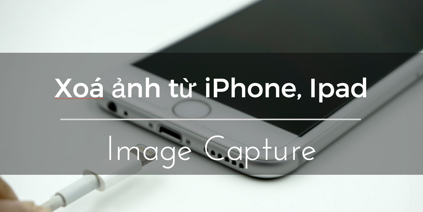 xoa anh voi image capture