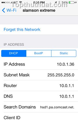 how to use google dns on iphone