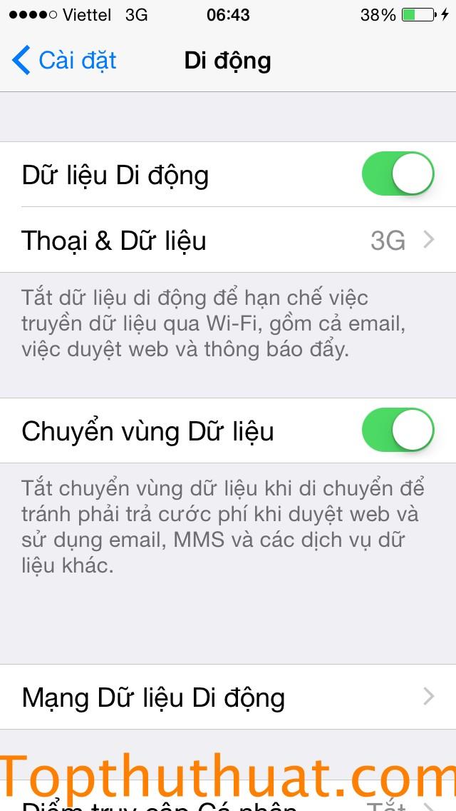 phat wifi tu iphone
