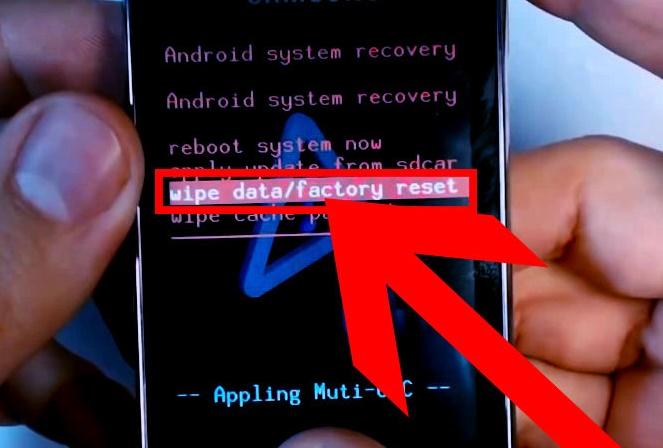 Cách khôi phục reset điện thoại Android về mặc định ban đầu