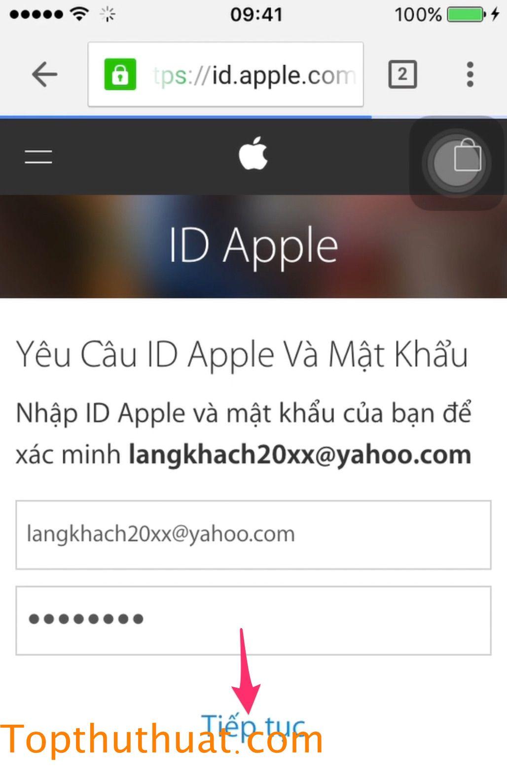 tao tai khoản id apple 7