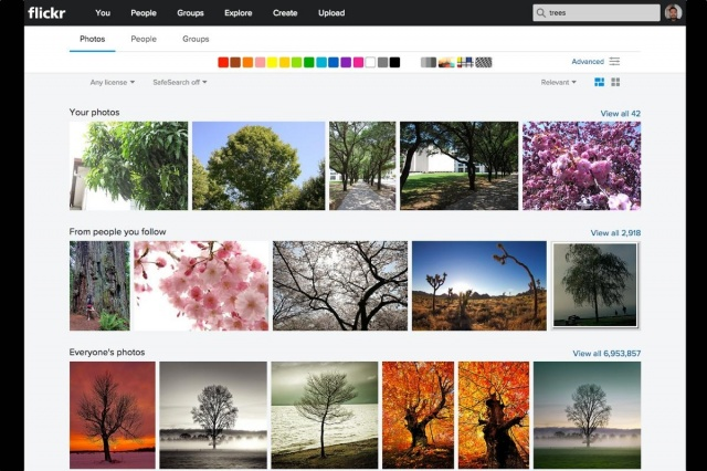flickr new