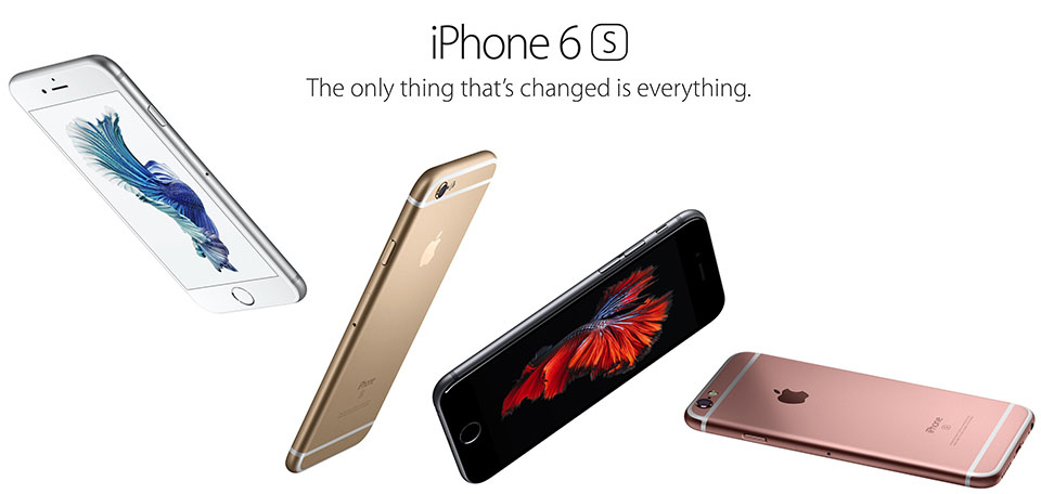 khac biet iphone 6 và 6s