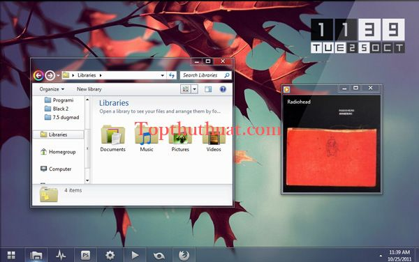 theme Windows 7 dep