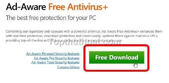 cai dat Ad-Aware Free Antivirus