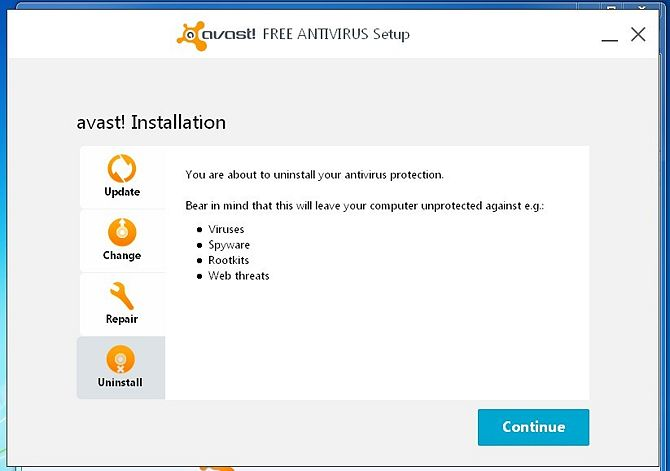 thao bo avast antivirus free