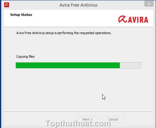 cach cai dat avira free antivirus