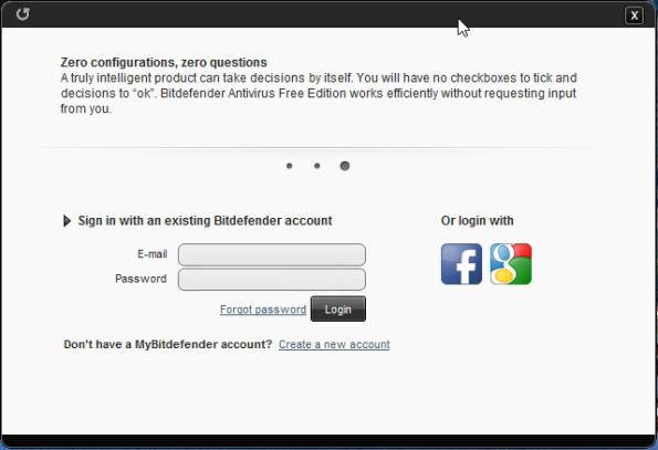 cai dat BitDefender Antivirus Free Edition
