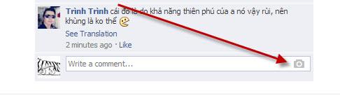 binh luan hinh anh facebook