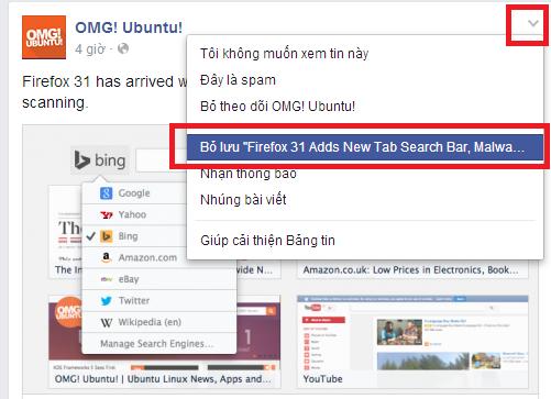 luu lai tin hay tren facebook