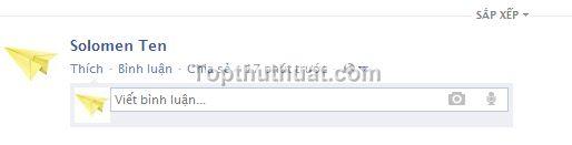 trang thai rong trong Facebook