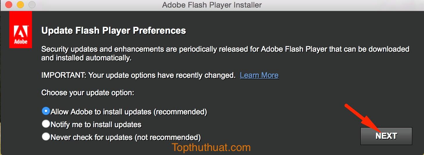adobe flash player pour mac os x 10.3.9