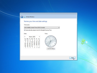 cach cai windows 7 bang dia usb