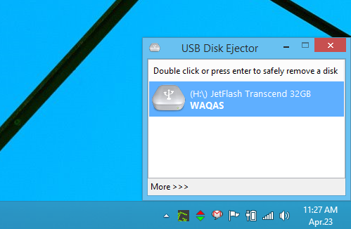 su dung USB Disk Ejector ngat ket noi usb