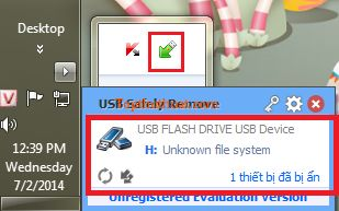 su dung USB Safely Remove
