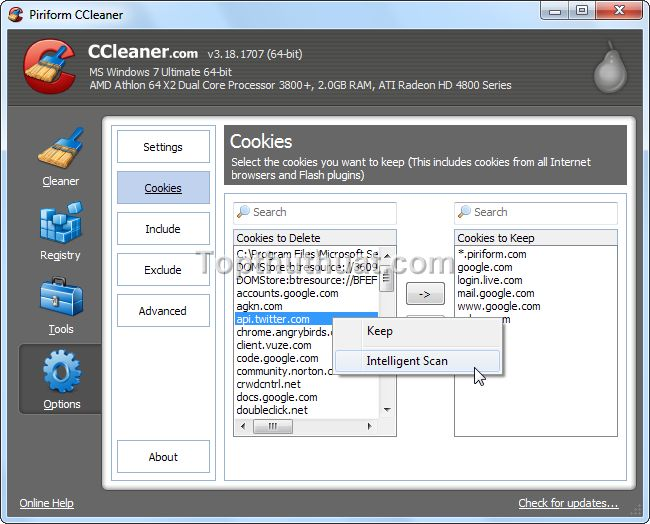 su dung ccleaner