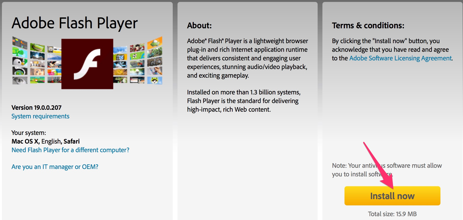 adobe flash player download for ios