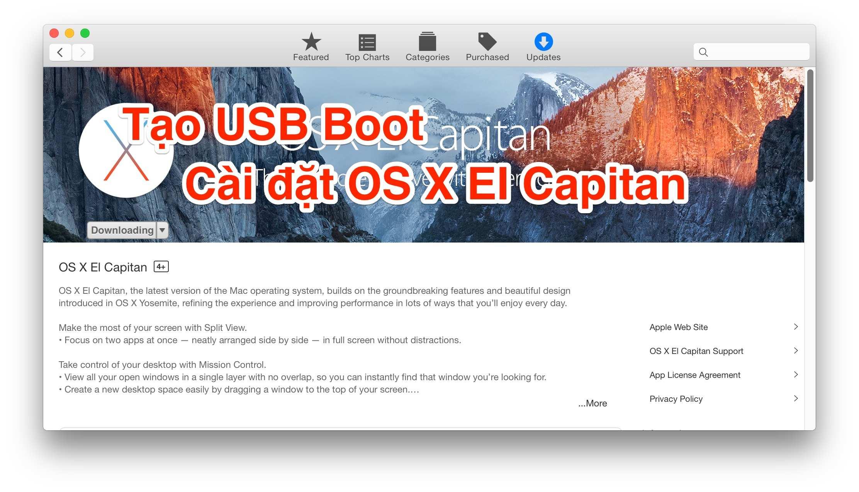 Mac OS X El Capintan