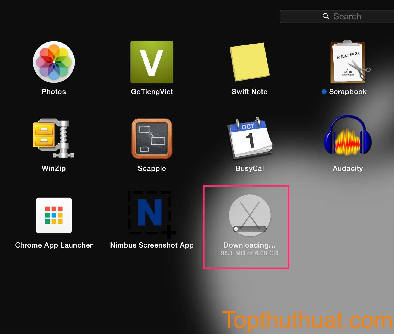 tao bo cai dat Mac OS X El Capintan bang usb 2