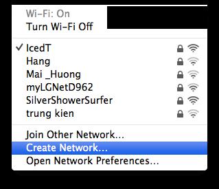 phat wifi tu mac os x