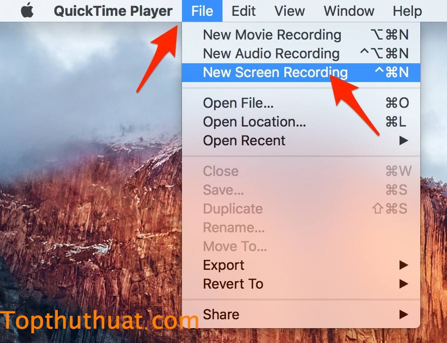 su dung quicktime player
