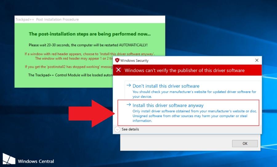 mang trackpad mac vao windows