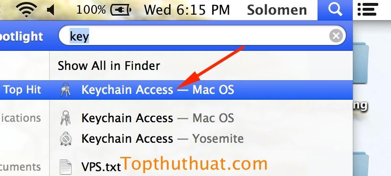 xem lai mat khau wifi tren mac