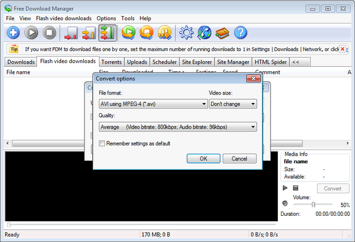 ho tro tai voi free download manager