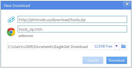 phan mem download eagleget