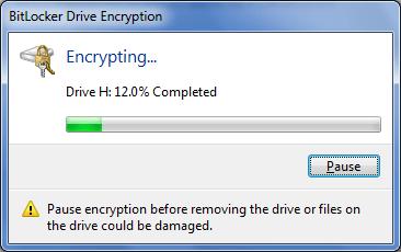 đặt mật khẩu bảo vệ USB