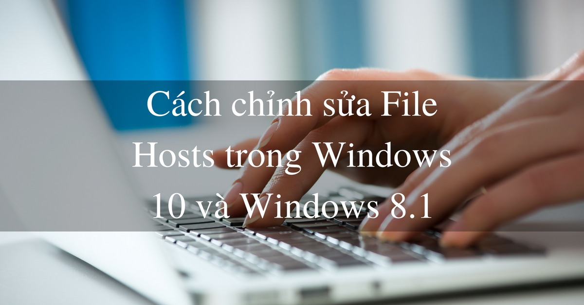 chinh file hosts