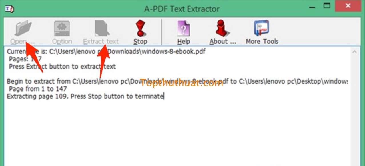trich xuat van ban pdf