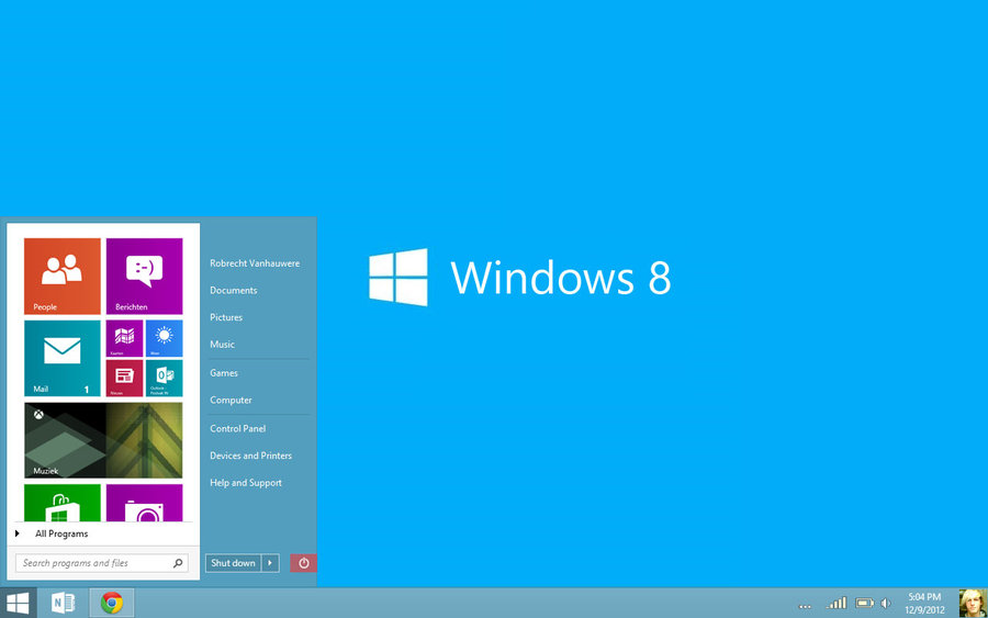 tang toc windows 8