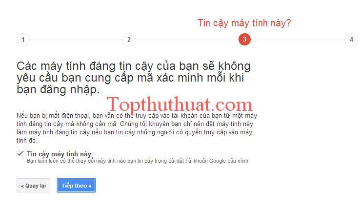 bao ve tai khoan google 2 lop
