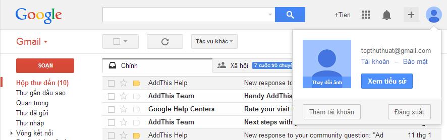 Như vậy bạn đã biết cách tạo tài khoản Gmail rồi