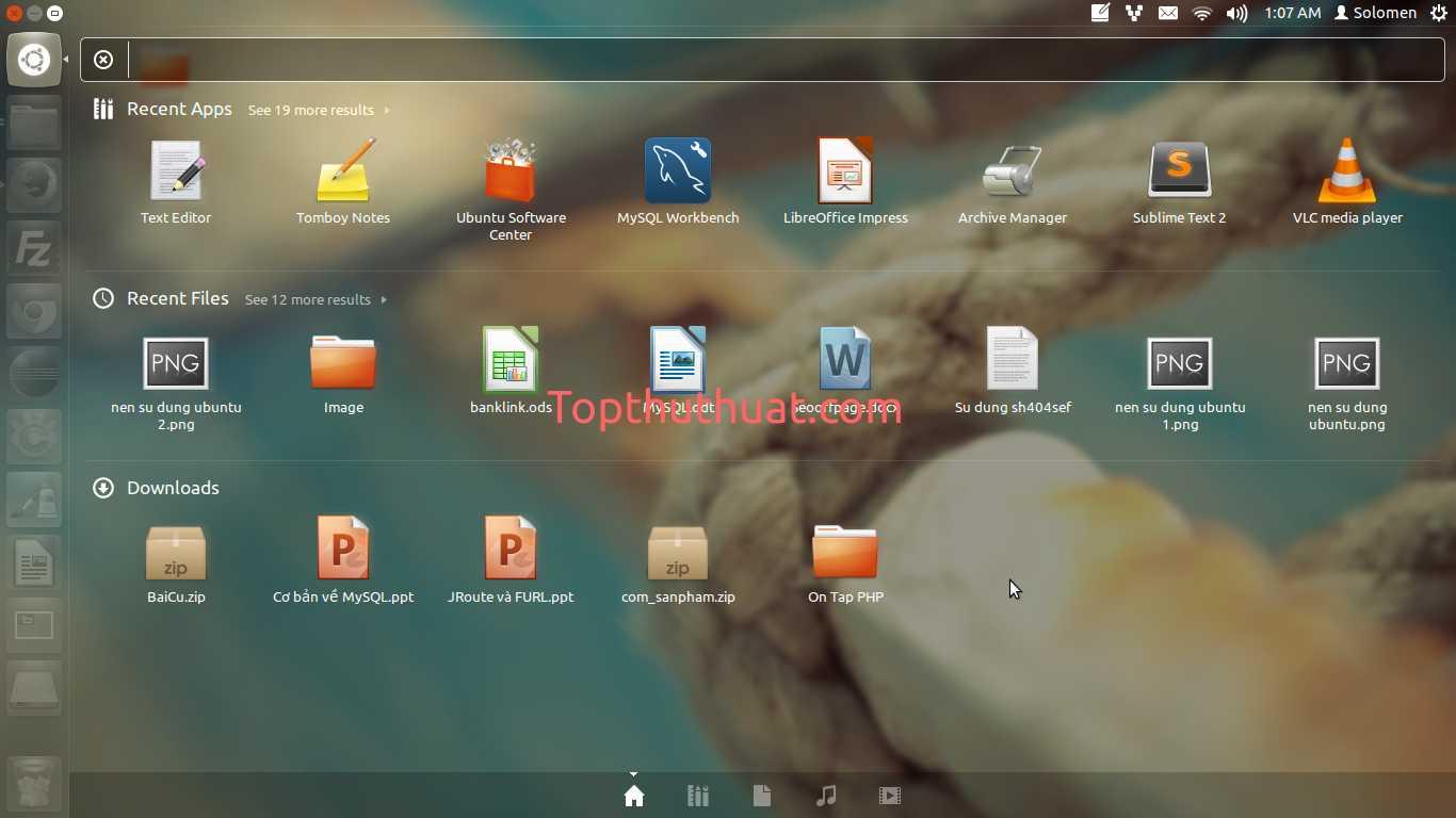 giao dien ubuntu