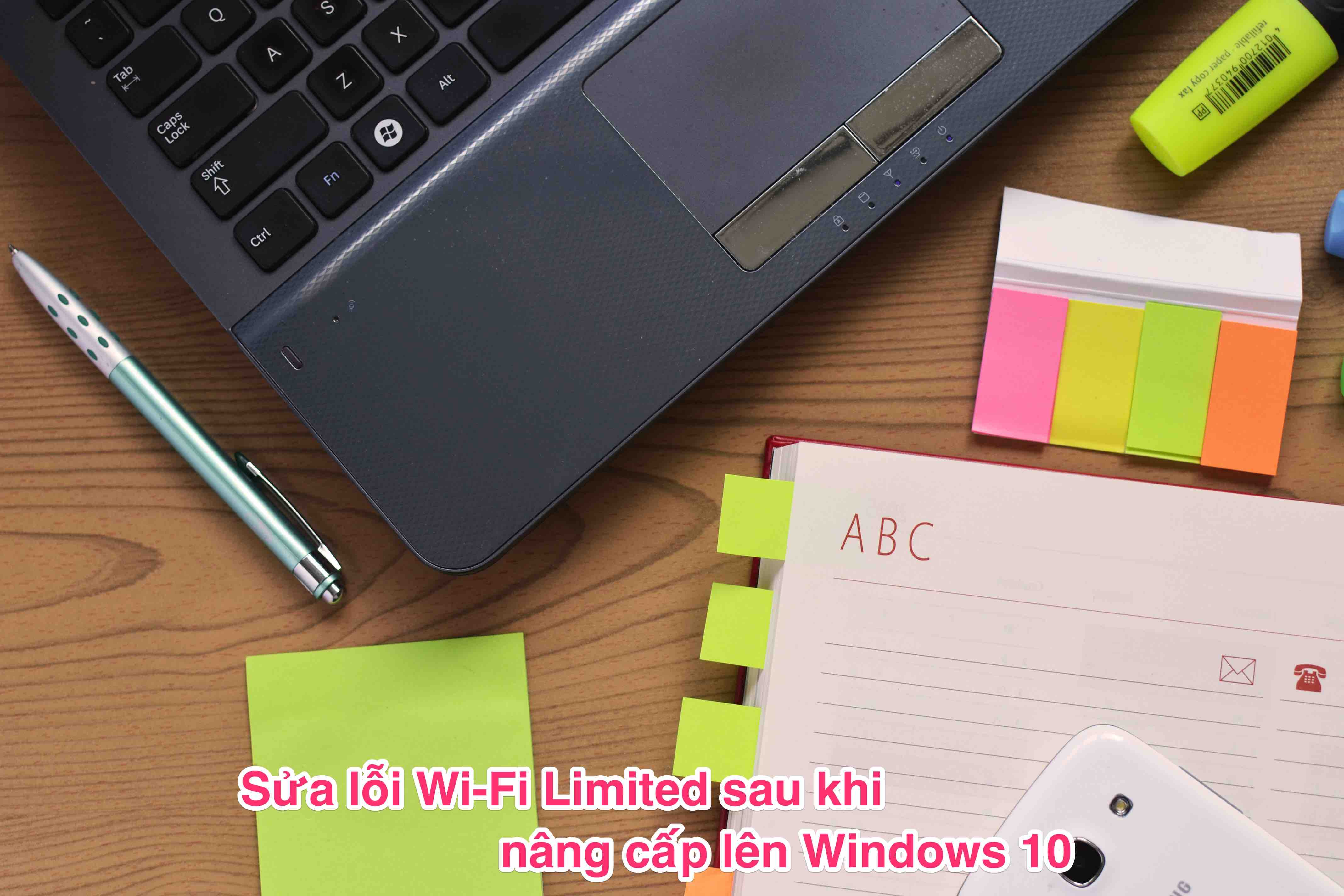 wifi limited win10