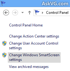 Windows SmartScreen prevented