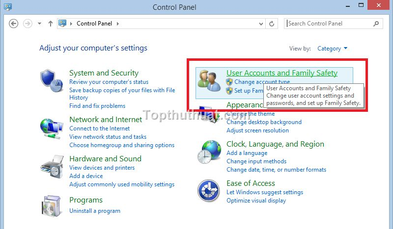 cach tat user account control