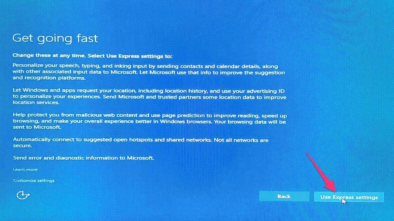 cai dat windows 10
