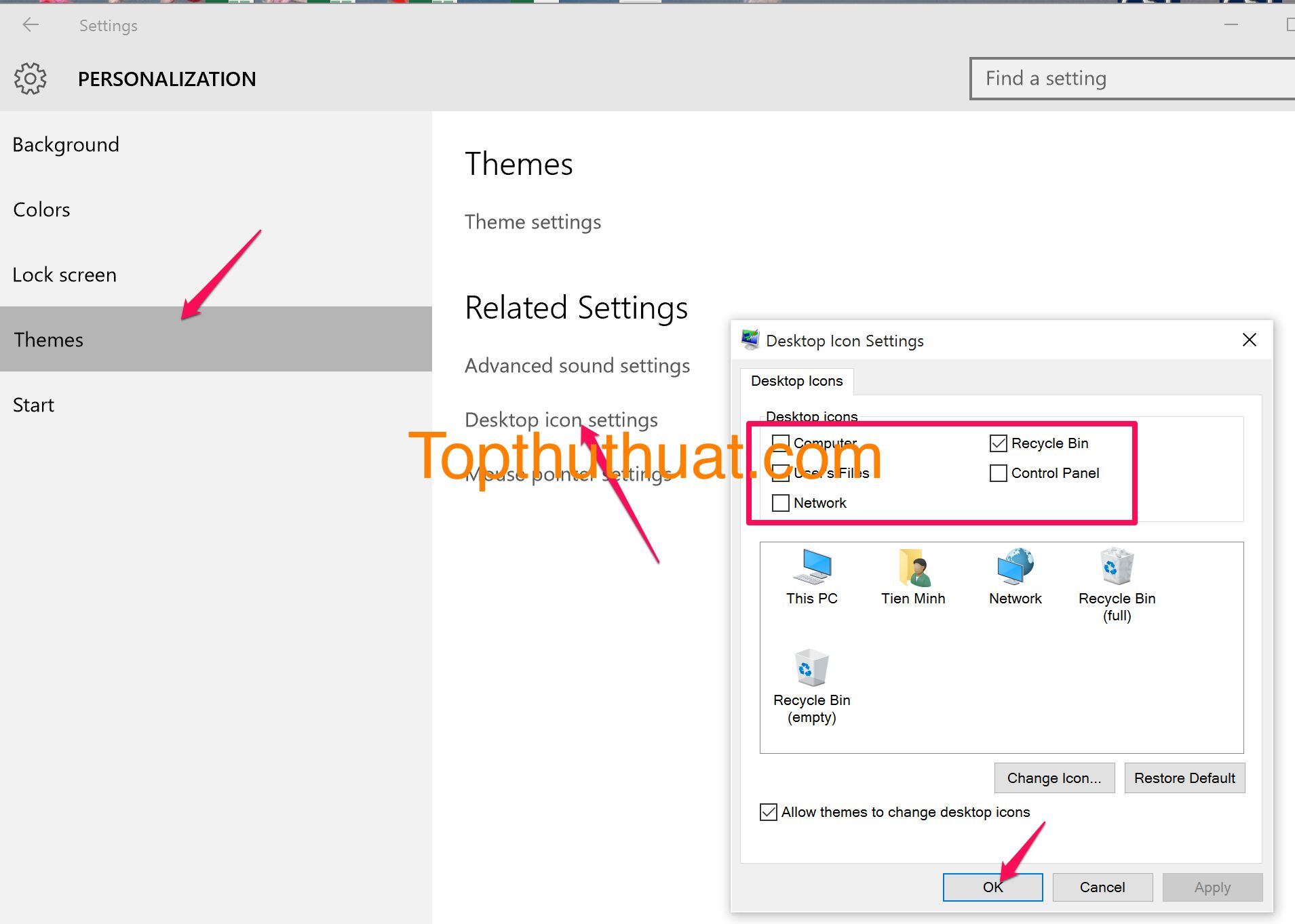 how to show my computer on desktop in windows 8.1