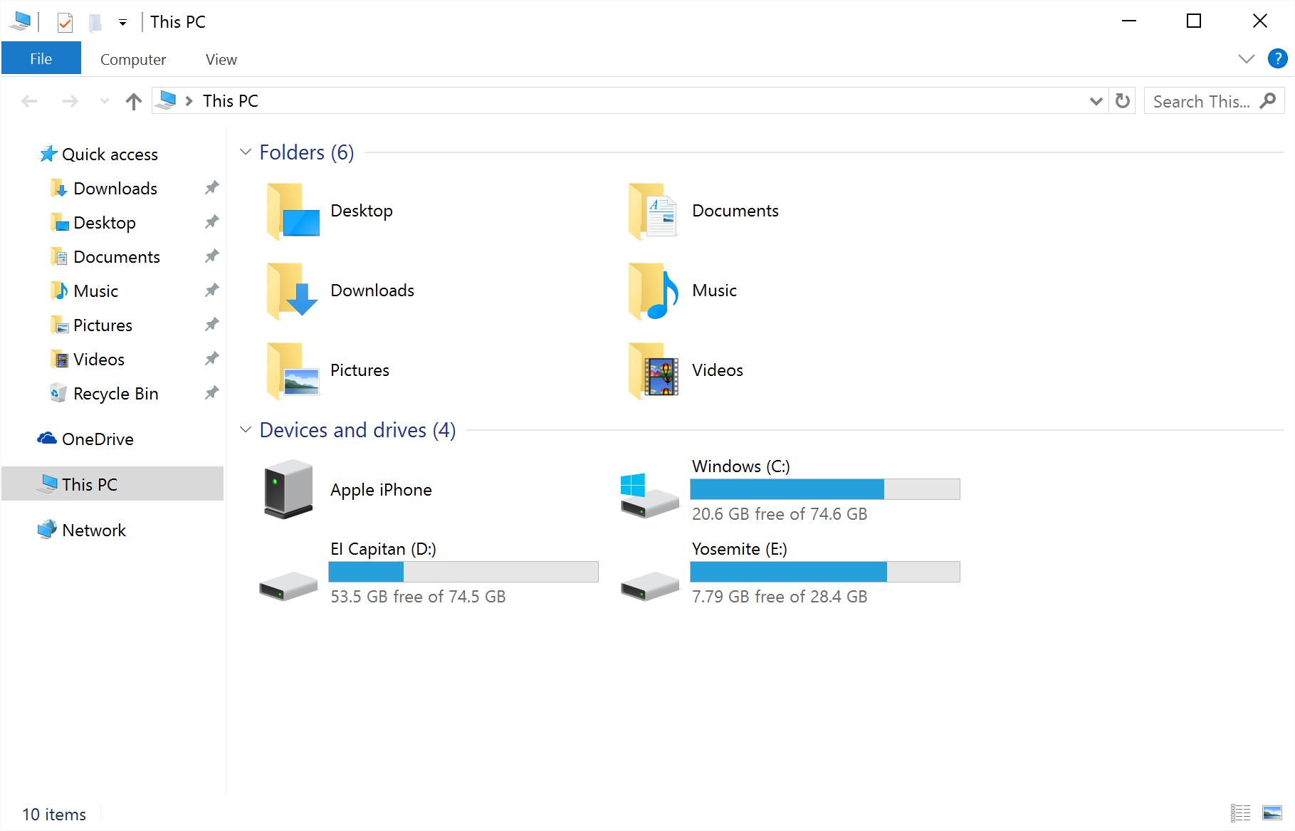 quick access windows 10 4