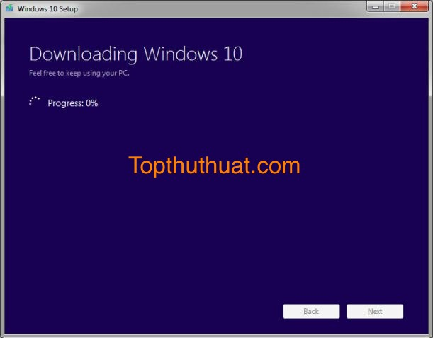 tao usb cai windows 10