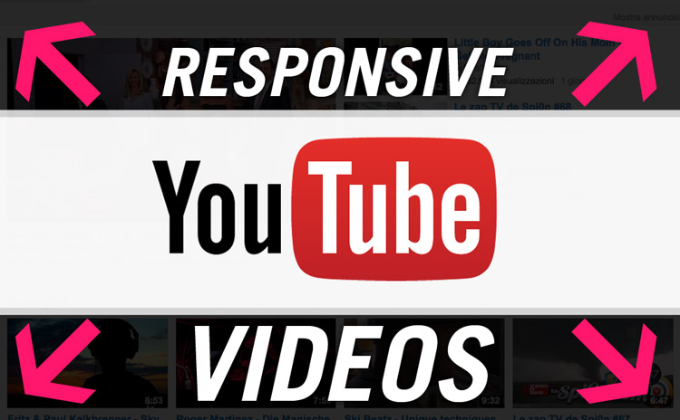 css youtube reponsive