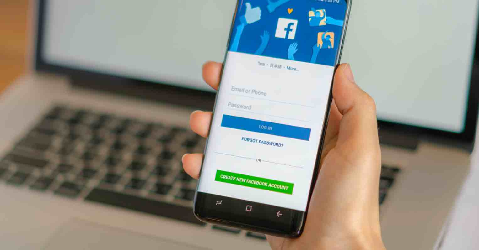 đổi giao diện phẳng cho Facebook