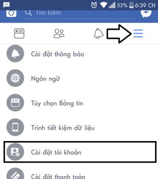 doi mat khau facebook