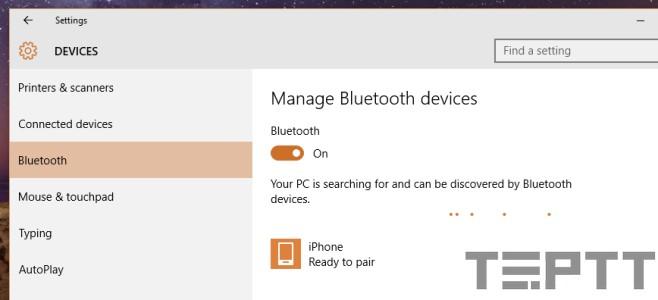 cách bật bluetooth cho laptop