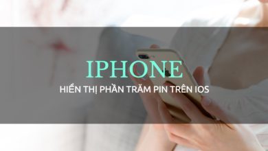 hien thi phan tram pin ios