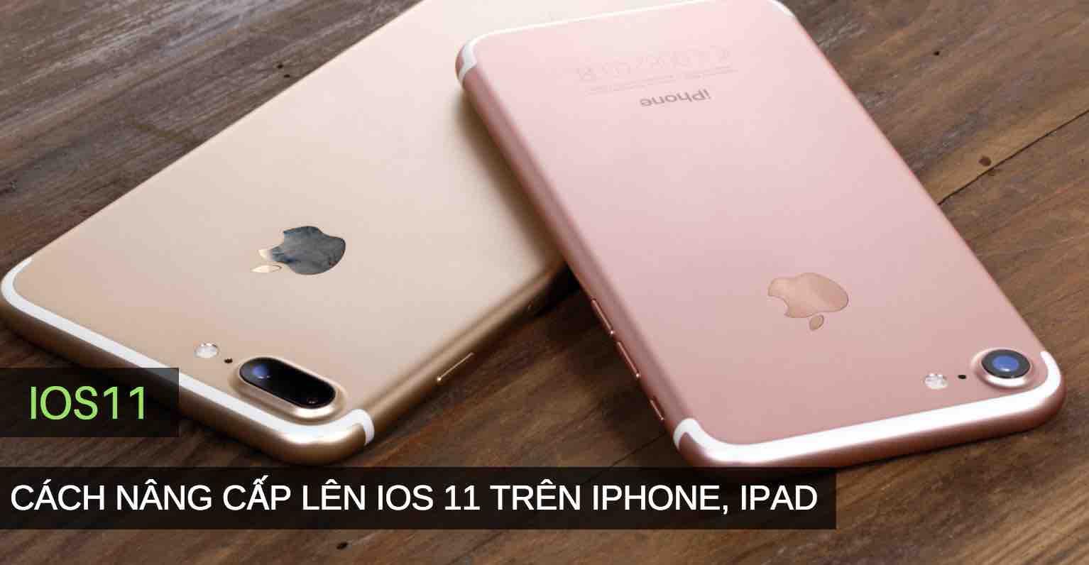 nâng cấp lên iOS 11