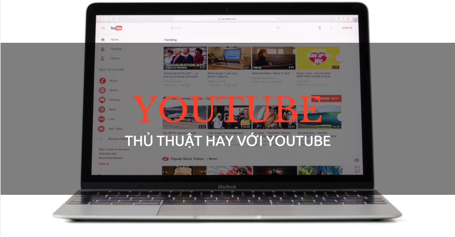 thu thuat youtube